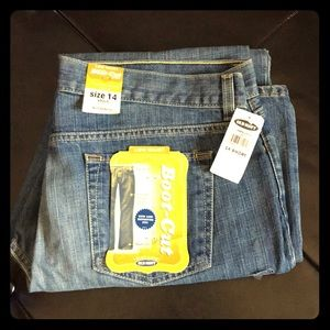 NWT Plus Size 14 Short Bootcut Jeans Old Navy